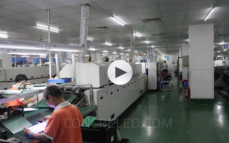 SMD LED Display Production Workshop CONCRE
